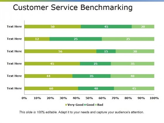 Customer Service Benchmarking Ppt PowerPoint Presentation Inspiration Graphics Example
