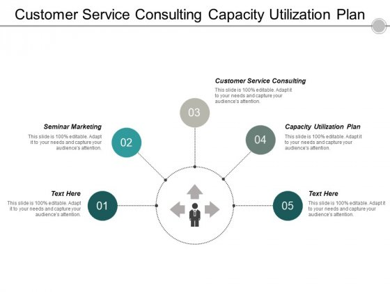 Customer Service Consulting Capacity Utilization Plan Seminar Marketing Ppt PowerPoint Presentation Styles Guidelines Cpb