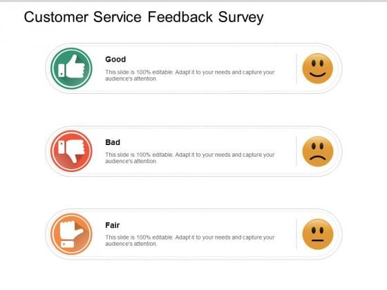 Customer Service Feedback Survey Ppt PowerPoint Presentation Outline Background Image