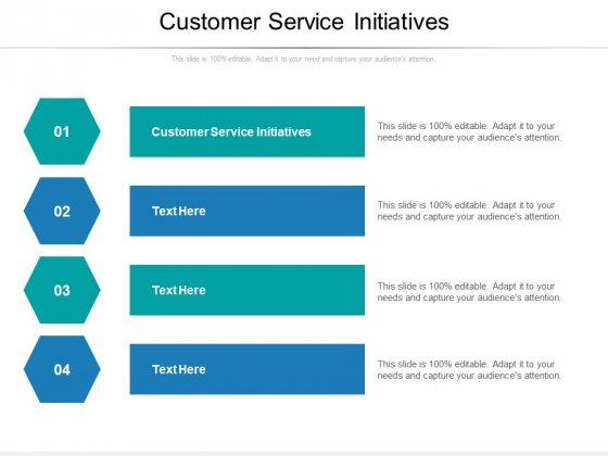 Customer Service Initiatives Ppt PowerPoint Presentation Inspiration Guide Cpb Pdf
