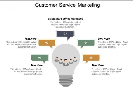 Customer Service Marketing Ppt Powerpoint Presentation Deck Cpb