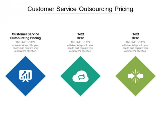 Customer Service Outsourcing Pricing Ppt PowerPoint Presentation Infographic Template Graphics Download Cpb