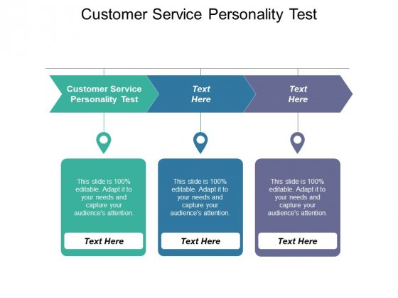 Customer Service Personality Test Ppt PowerPoint Presentation Icon Slides