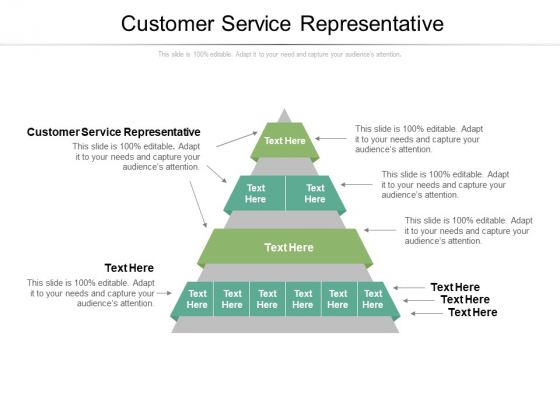Customer Service Representative Ppt PowerPoint Presentation Styles Graphics Download Cpb Pdf