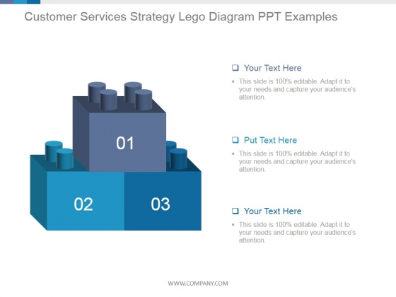 Customer Services Strategy Lego Diagram Ppt PowerPoint Presentation Example 2015