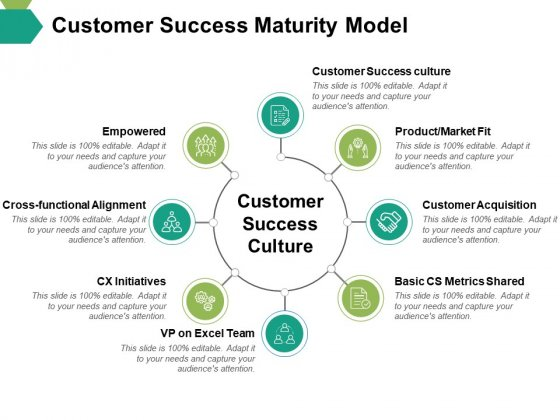 Customer Success Maturity Model Ppt PowerPoint Presentation Slides Objects