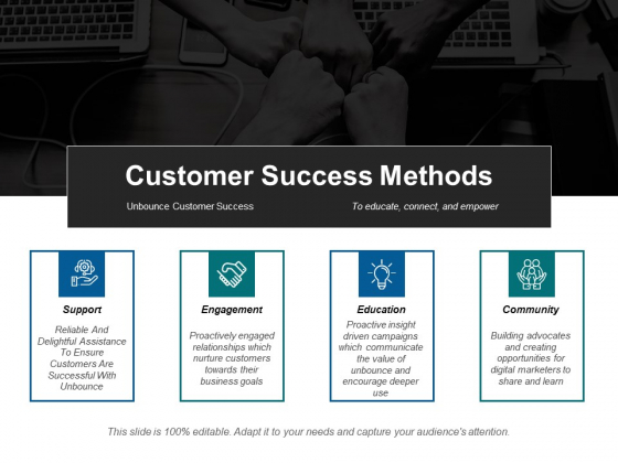 Customer Success Methods Ppt PowerPoint Presentation Styles Infographic Template