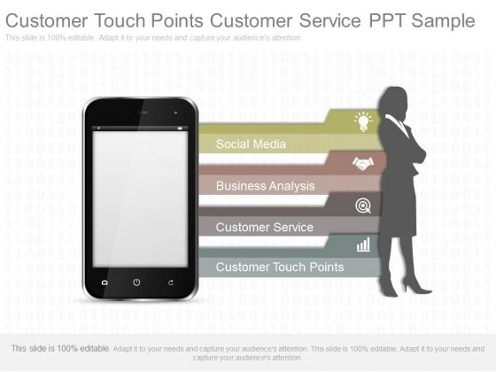 Customer Touch Points Customer Service Ppt Sample