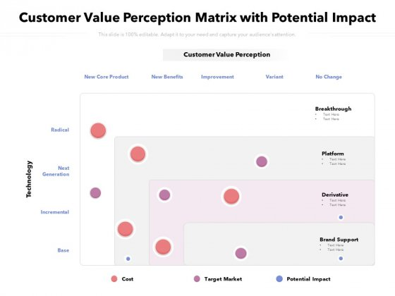 Customer_Value_Perception_Matrix_With_Potential_Impact_Ppt_PowerPoint_Presentation_Pictures_Ideas_PDF_Slide_1