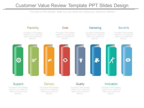 Customer Value Review Template Ppt Slides Design