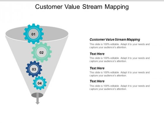 Customer Value Stream Mapping Ppt PowerPoint Presentation Slide Cpb