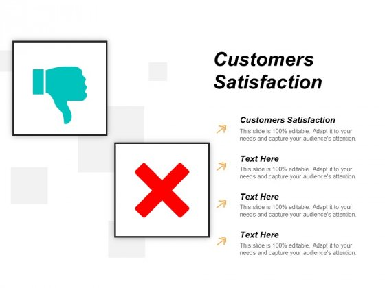Customers Satisfaction Ppt PowerPoint Presentation Gallery Design Inspiration Cpb