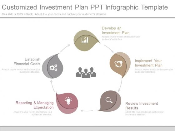 customized investment plan ppt infographic template powerpoint