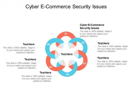 Cyber E Commerce Security Issues Ppt PowerPoint Presentation Layouts Demonstration Cpb