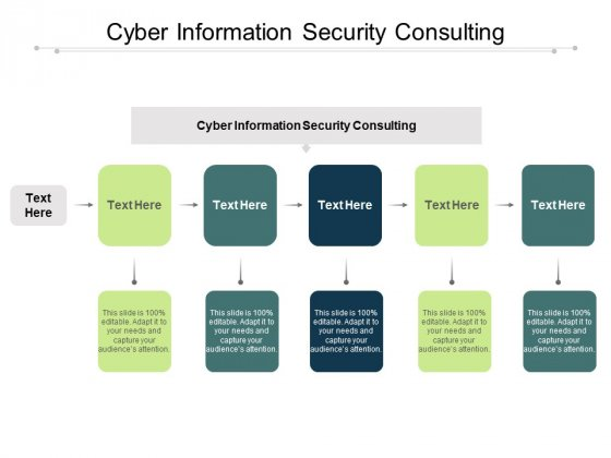 Cyber Information Security Consulting Ppt PowerPoint Presentation Infographics Topics Cpb Pdf