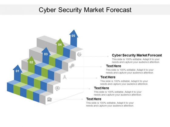 Cyber Security Market Forecast Ppt PowerPoint Presentation Infographics Example File Cpb