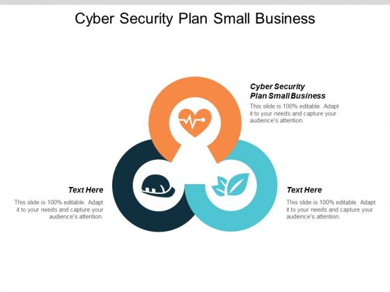 Cyber Security Plan Small Business Ppt PowerPoint Presentation Outline Example Cpb