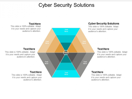 Cyber Security Solutions Ppt PowerPoint Presentation Layouts Icon Cpb