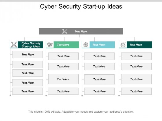 Cyber Security Start Up Ideas Ppt PowerPoint Presentation Inspiration Summary Cpb