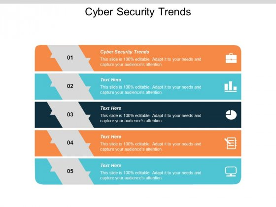 Cyber Security Trends Ppt PowerPoint Presentation Show Structure Cpb