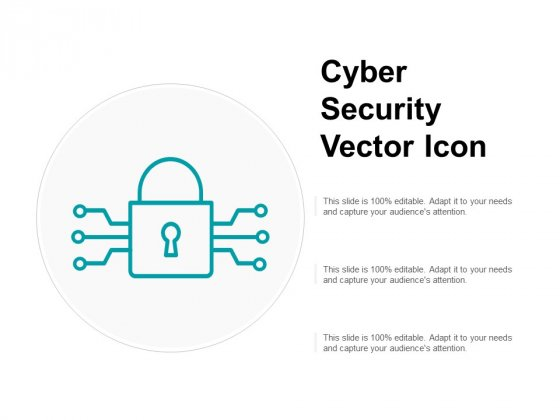 Cyber Security Vector Icon Ppt PowerPoint Presentation Inspiration