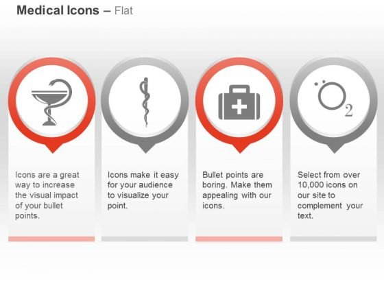 Caduceus First Aid Box Oxygen Ppt Slides Graphics