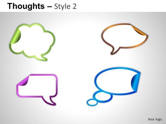 Callouts Thoughts PowerPoint Slides And Ppt Graphics