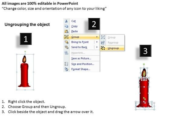candle_melting_diagram_powerpoint_image_graphics_2