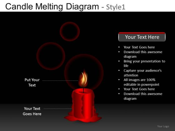 Candle Ppt Slides
