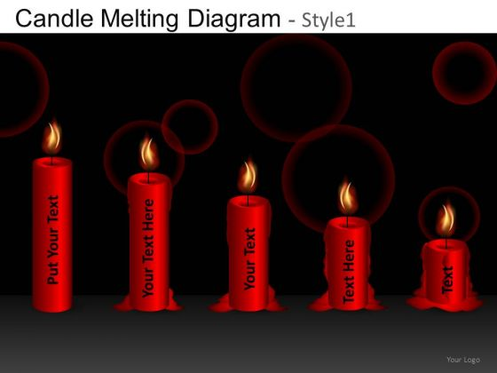 Candles PowerPoint Slides