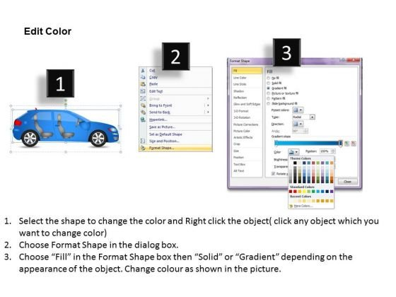 car_drive_2_door_blue_car_side_powerpoint_slides_and_ppt_diagram_templates_3