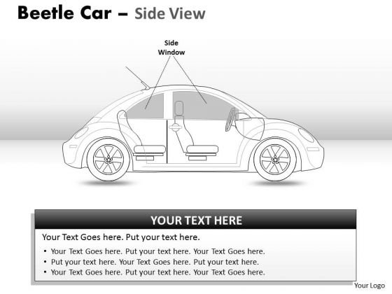 Celebration Red Beetle Car PowerPoint Slides And Ppt Diagram Templates