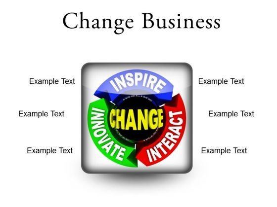 Change Business PowerPoint Presentation Slides S