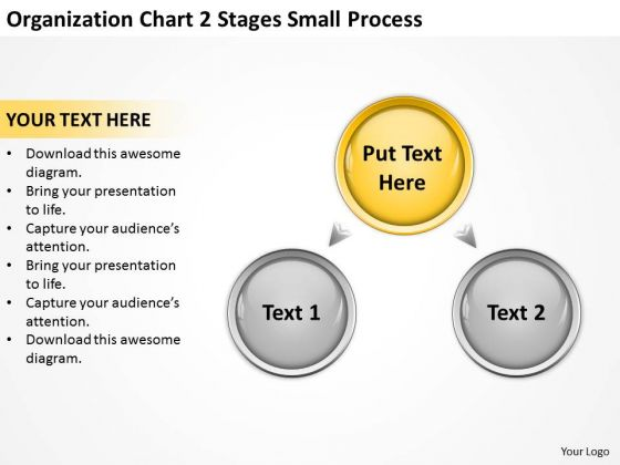Chart 2 Stages Small Process Ppt Putting Business Plan Together PowerPoint Templates