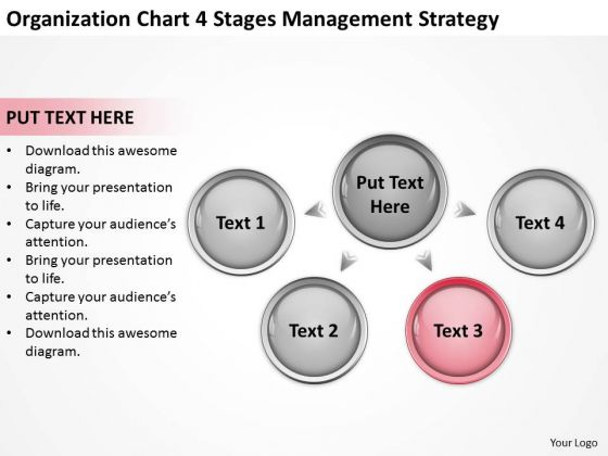 Chart 4 Stages Management Starategy Ppt Simple Business Plan Templates PowerPoint