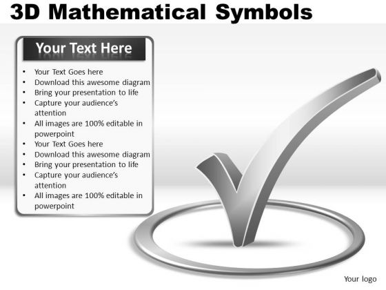 Checked 3d Symbols PowerPoint Slides And Ppt Diagram Templates