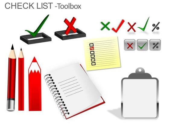Checklist Images For PowerPoint Slide Design