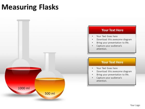 Chemicals Measuring Flasks PowerPoint Slides And Ppt Diagram Templates