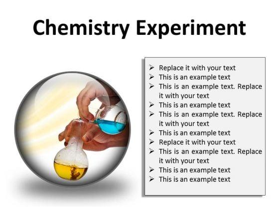 chemistry experiment science powerpoint presentation slides c