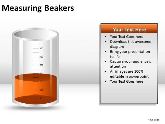 Chemistry Measuring Beakers PowerPoint Slides And Ppt Diagram Templates