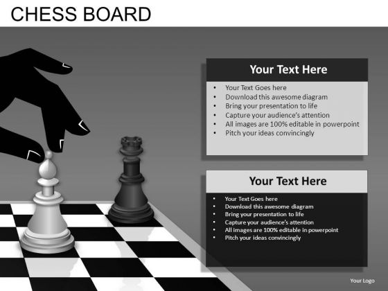 Chess Moves PowerPoint Templates