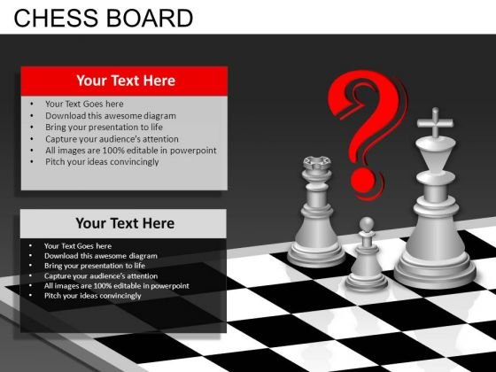 Chess Questions PowerPoint Templates