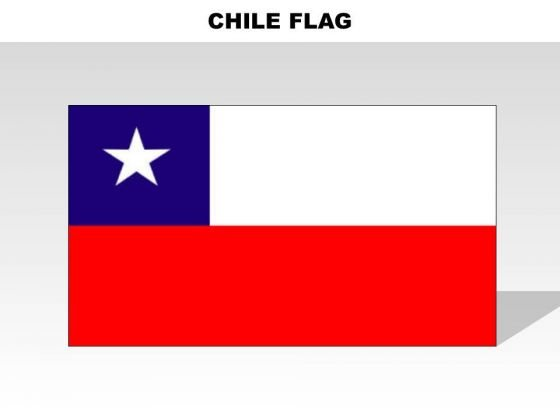 Chile Country PowerPoint Flags