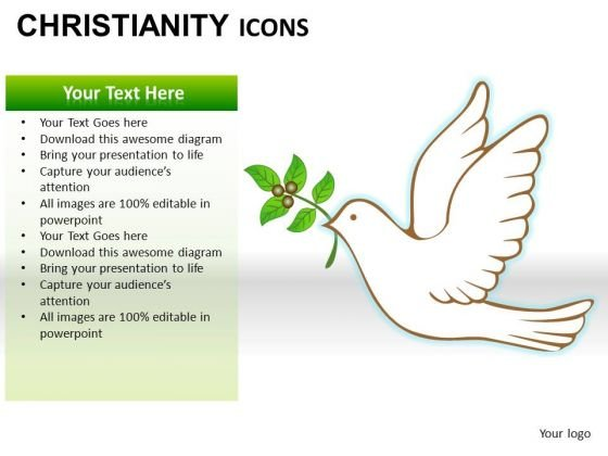 Christianity Peace PowerPoint Slides And Ppt Diagram Templates