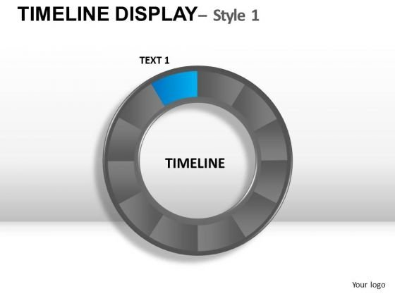 Circle Timeline Chart PowerPoint Slides And Ppt Diagram Templates