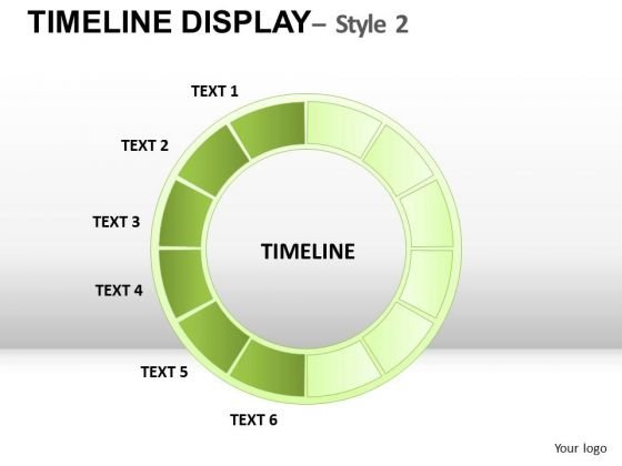 Circle Timeline Diagram PowerPoint Slides And Ppt Templates