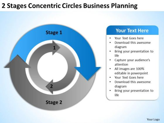 Circles World Business PowerPoint Templates Planning Slides