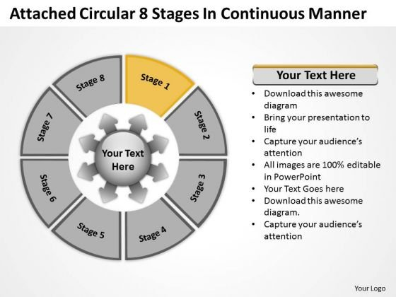 Circular 8 Stages In Continuous Manner Ppt Relative Cycle Arrow Chart PowerPoint Templates