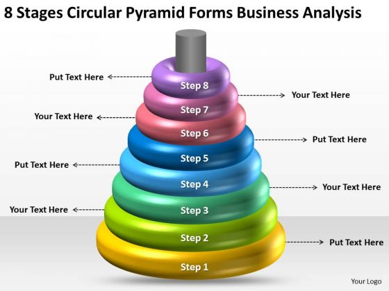 Circular Pyramid Forms Business Analysis Ppt Professional Plans PowerPoint Templates