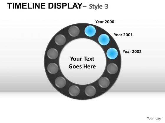 Circular Timeline Planning PowerPoint Slides And Ppt Diagram ...